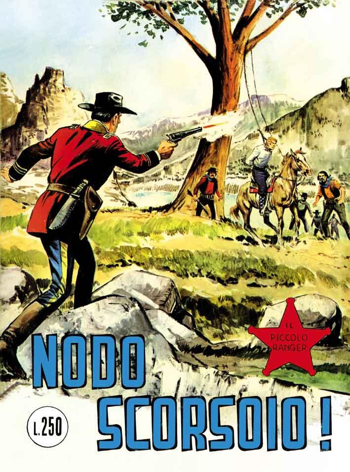 il piccolo ranger collana cowboy copertina numero 125