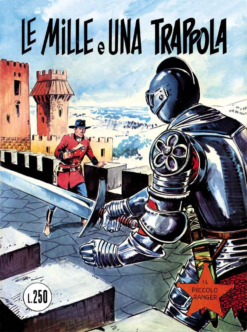 il piccolo ranger collana cowboy copertina numero 126