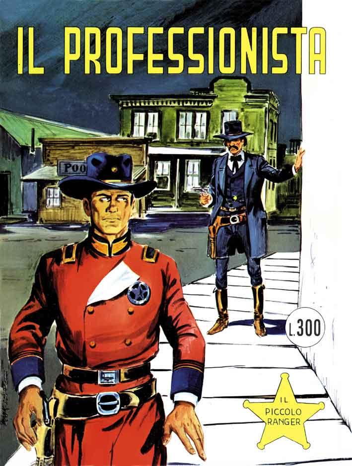 il piccolo ranger collana cowboy copertina numero 127