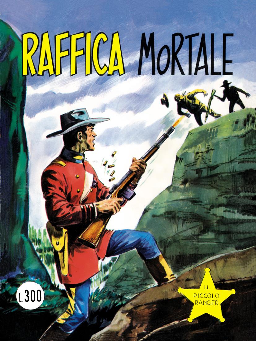 il piccolo ranger collana cowboy copertina numero 129