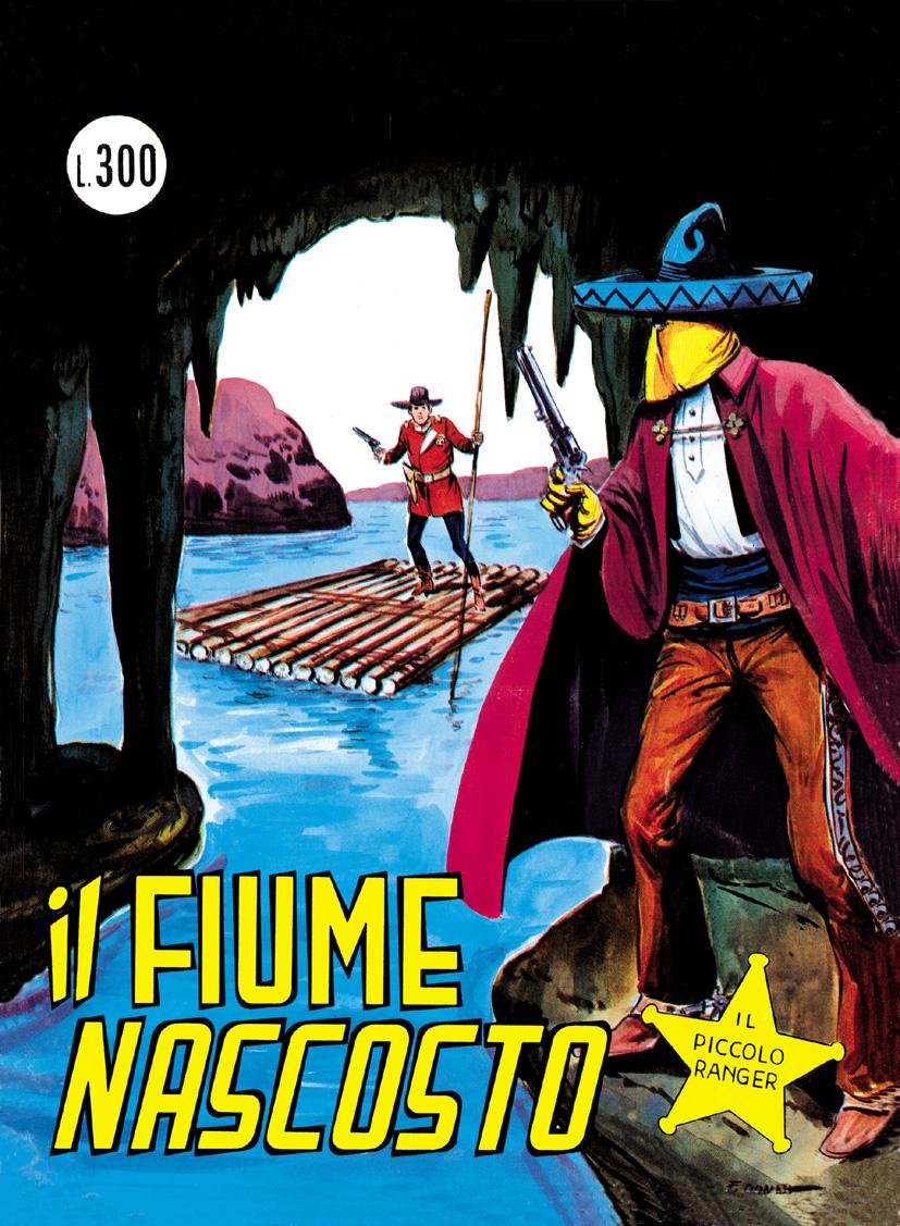 il piccolo ranger collana cowboy copertina numero 130