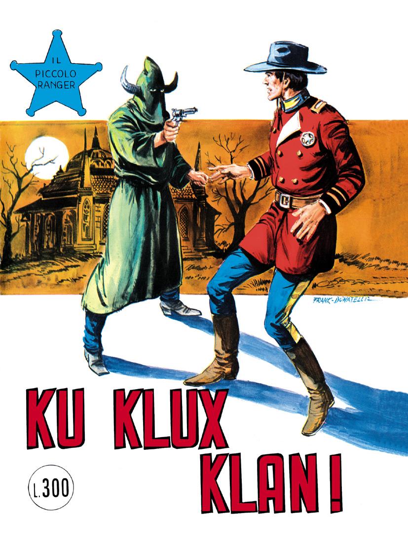il piccolo ranger collana cowboy copertina numero 131