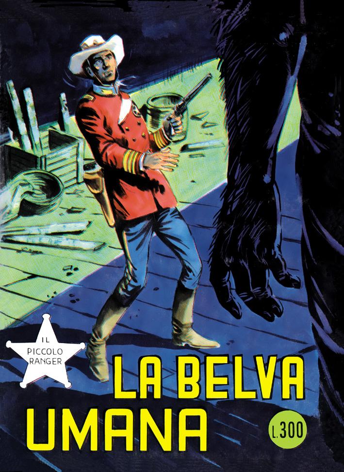 il piccolo ranger collana cowboy copertina numero 133