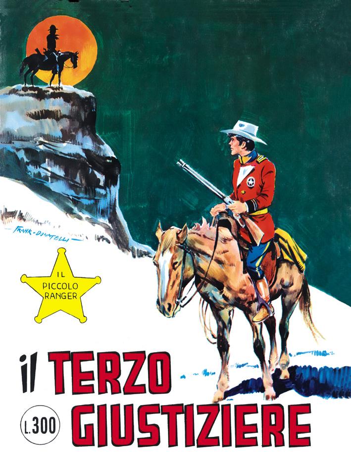 il piccolo ranger collana cowboy copertina numero 135