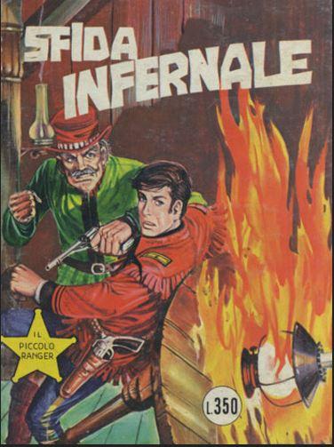 il piccolo ranger collana cowboy copertina numero 148