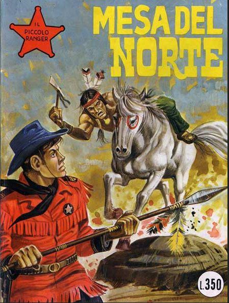 il piccolo ranger collana cowboy copertina numero 155