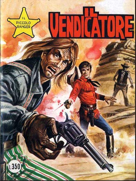 il piccolo ranger collana cowboy copertina numero 160