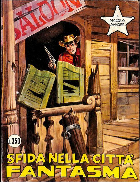 il piccolo ranger collana cowboy copertina numero 164