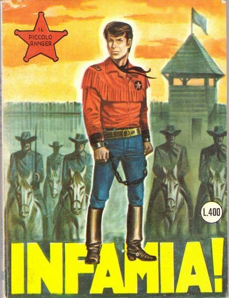 il piccolo ranger collana cowboy copertina numero 168