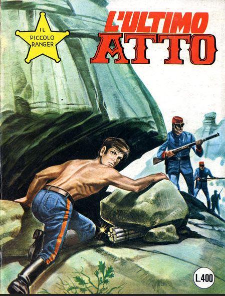 il piccolo ranger collana cowboy copertina numero 169