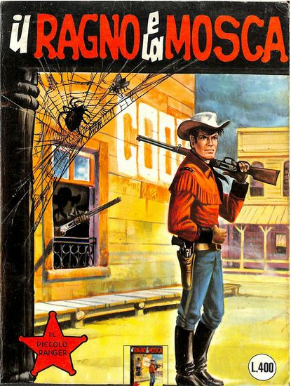 il piccolo ranger collana cowboy copertina numero 171