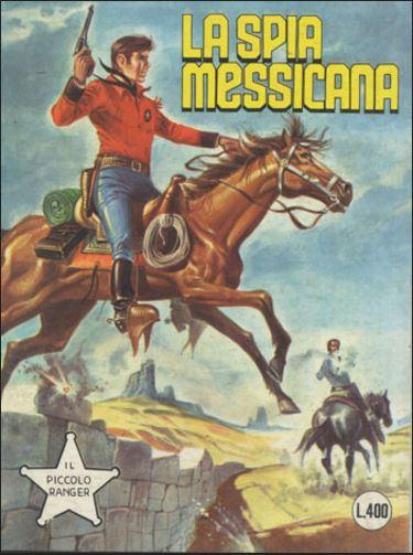 il piccolo ranger collana cowboy copertina numero 174