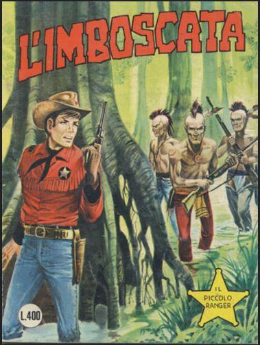 il piccolo ranger collana cowboy copertina numero 177