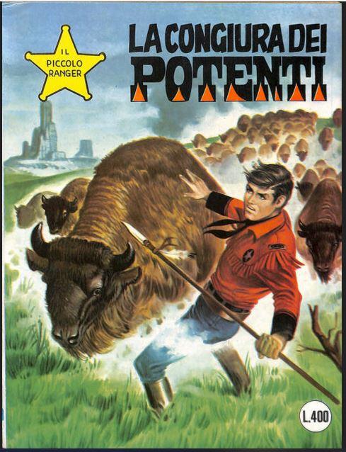 il piccolo ranger collana cowboy copertina numero 179