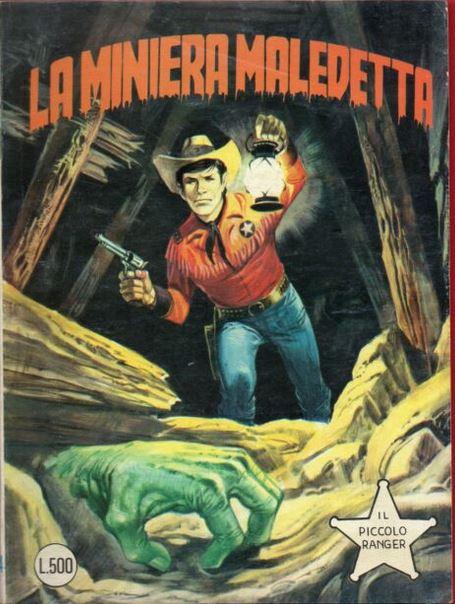il piccolo ranger collana cowboy copertina numero 184
