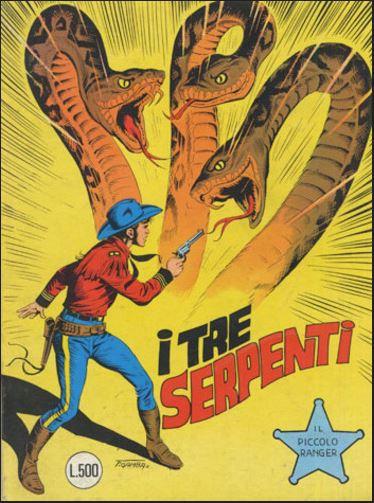 il piccolo ranger collana cowboy copertina numero 186