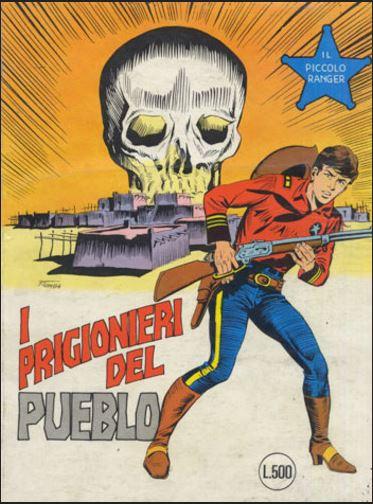 il piccolo ranger collana cowboy copertina numero 187