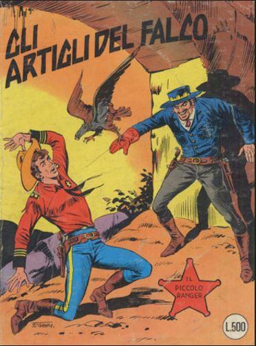 il piccolo ranger collana cowboy copertina numero 190