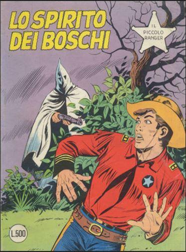 il piccolo ranger collana cowboy copertina numero 191