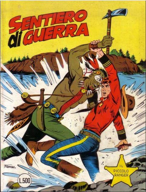 il piccolo ranger collana cowboy copertina numero 192