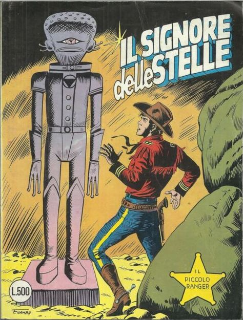 il piccolo ranger collana cowboy copertina numero 194