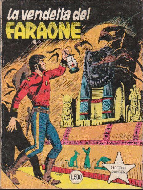 il piccolo ranger collana cowboy copertina numero 196