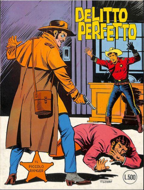 il piccolo ranger collana cowboy copertina numero 197