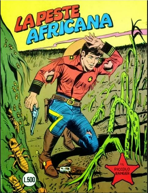 il piccolo ranger collana cowboy copertina numero 198