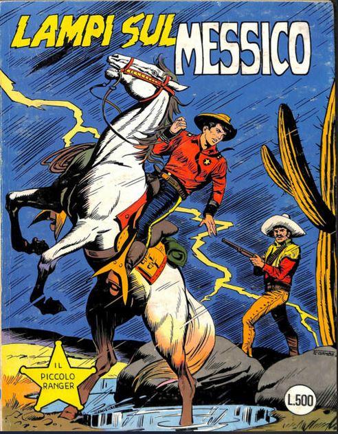 il piccolo ranger collana cowboy copertina numero 199