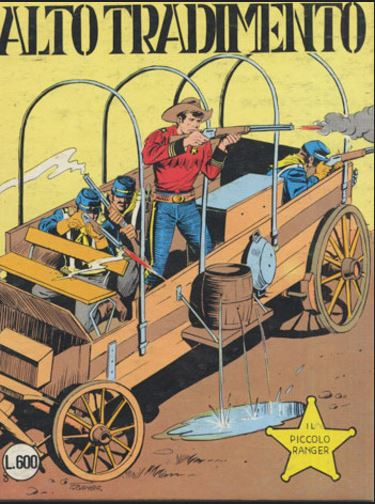 il piccolo ranger collana cowboy copertina numero 200