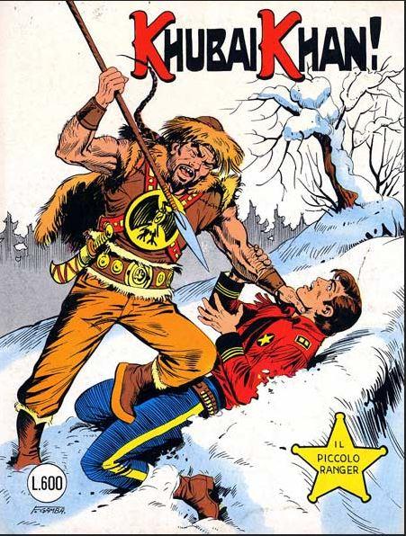 il piccolo ranger collana cowboy copertina numero 202
