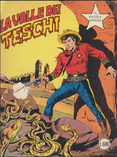 il piccolo ranger collana cowboy copertina numero 205