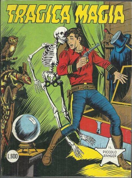 il piccolo ranger collana cowboy copertina numero 207
