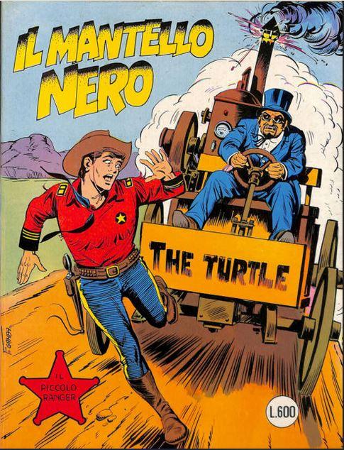il piccolo ranger collana cowboy copertina numero 208
