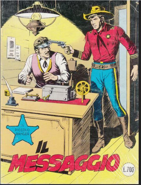 il piccolo ranger collana cowboy copertina numero 211