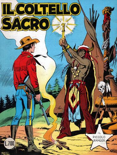 il piccolo ranger collana cowboy copertina numero 217