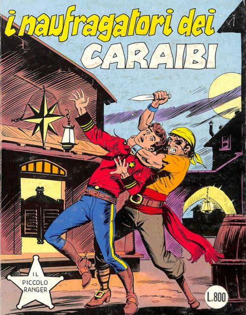 il piccolo ranger collana cowboy copertina numero 224