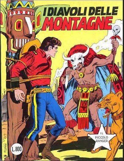 il piccolo ranger collana cowboy copertina numero 228