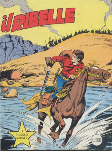 il piccolo ranger collana cowboy copertina numero 238