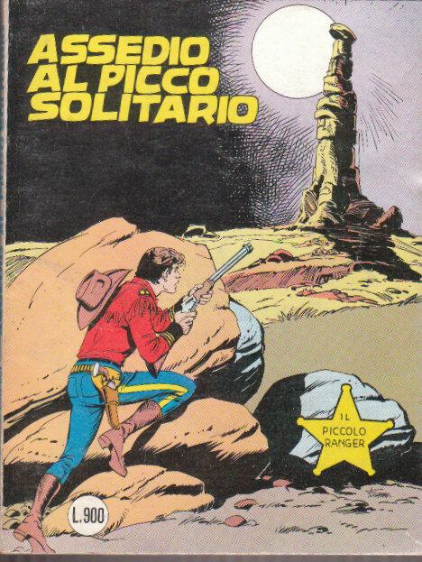 il piccolo ranger collana cowboy copertina numero 239
