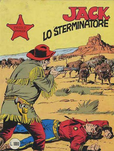 il piccolo ranger collana cowboy copertina numero 240