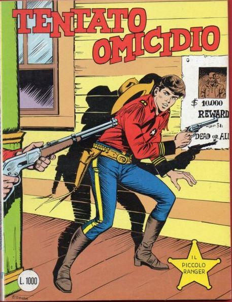 il piccolo ranger collana cowboy copertina numero 247