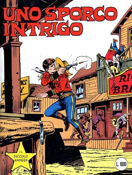 il piccolo ranger collana cowboy copertina numero 248