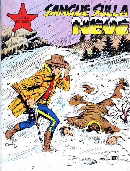 il piccolo ranger collana cowboy copertina numero 249