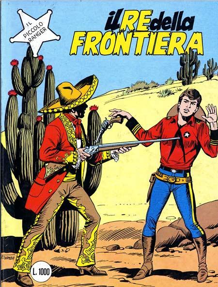 il piccolo ranger collana cowboy copertina numero 251