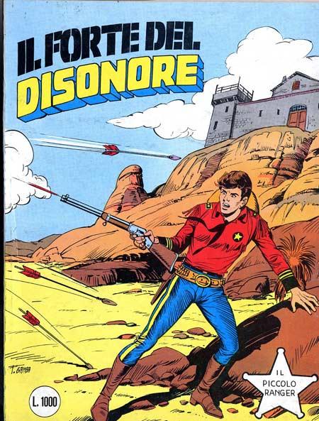 il piccolo ranger collana cowboy copertina numero 252