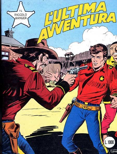 il piccolo ranger collana cowboy copertina numero 254