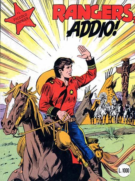 il piccolo ranger collana cowboy copertina numero 255