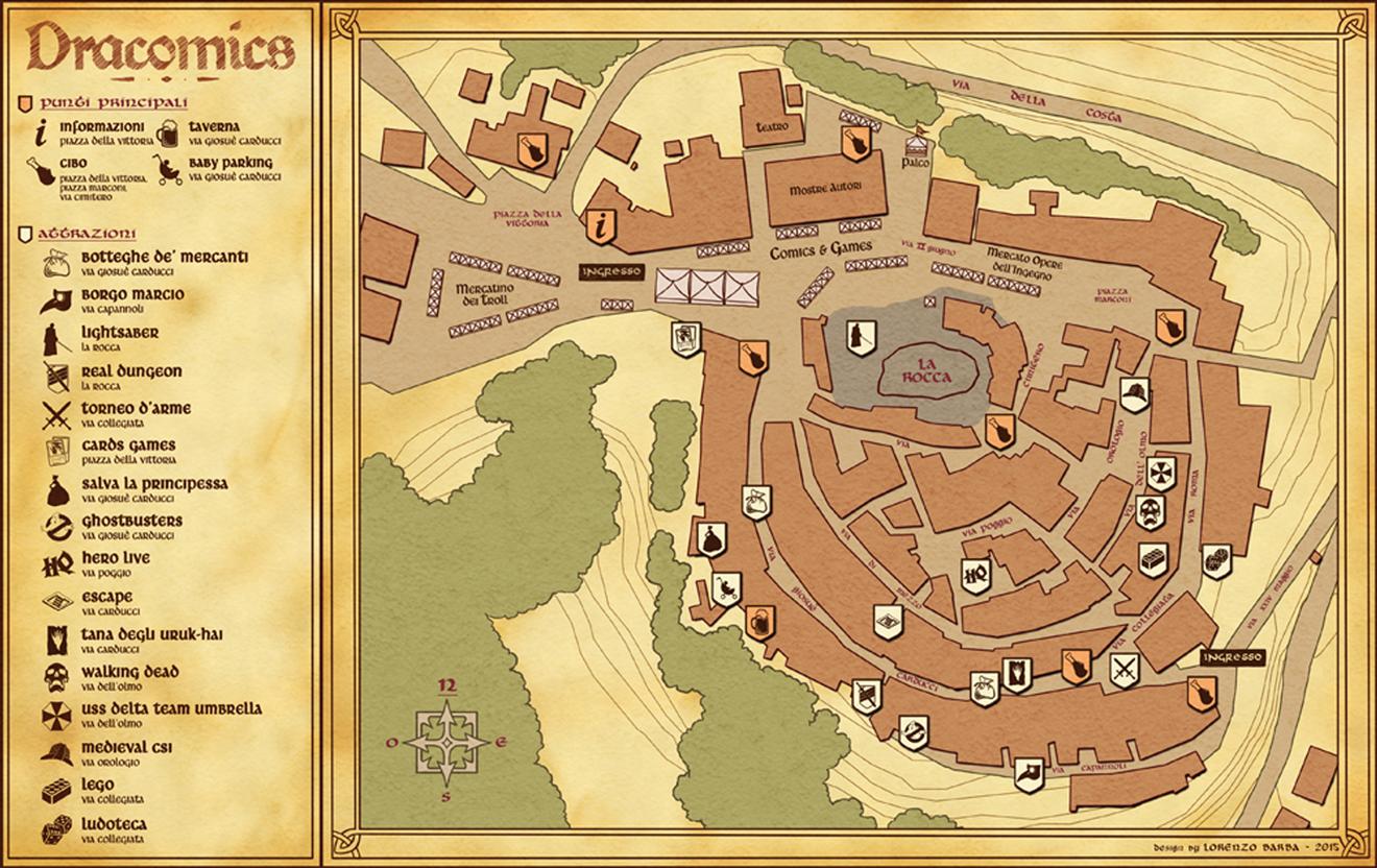 La mappa di Dracomics