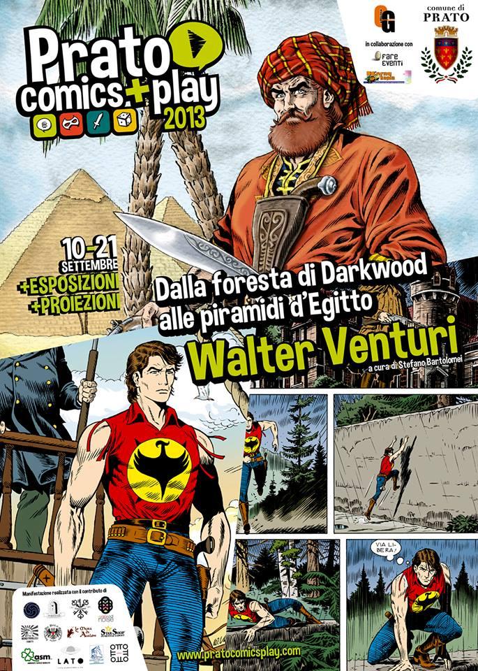Manifesto della mostra di Walter Venturi